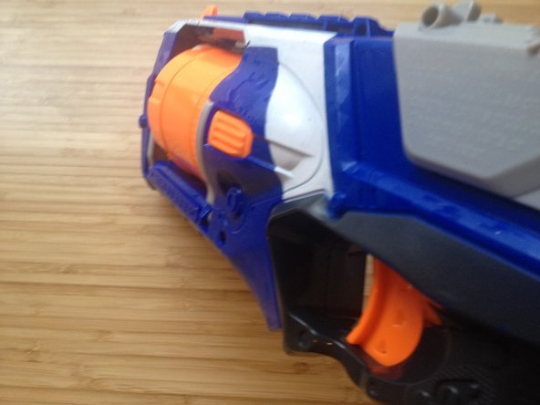 If your Nerf Elite Strongarm is still not working here is a link to a Reddit post posted by someone who had a similiar problem.Strongarm barrel doesn't rotate