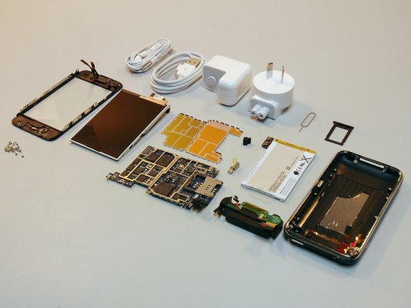 We performed this disassembly immediately following the iPhone launch at 12:01 July 11, 2008, New Zealand time. That's 5:01 AM, July 10, Pacific time for those of us who aren't islanders.