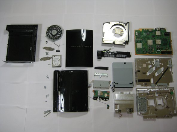 Sony PlayStation 3 teardown