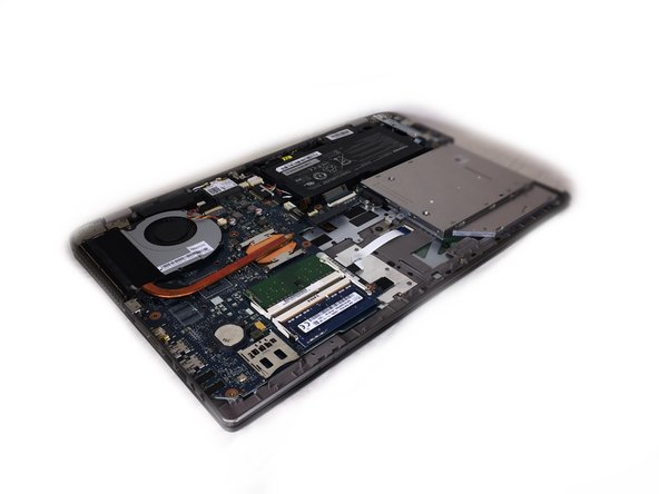 Remove the bottom cover of your laptop. For instructions on how to do this, visit the Toshiba Satellite P55-A5312 Back Cover Removal Guide