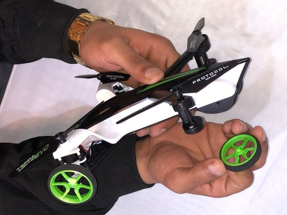 Protocol TerraCopter EVO Back Wheels  Replacement