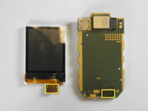Nokia 6102i Inside Display Screen Replacement