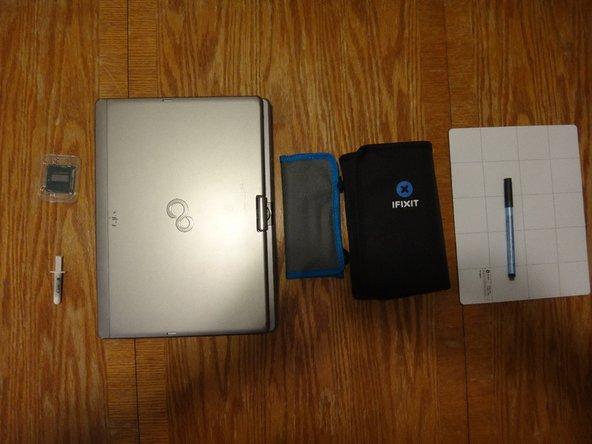 Fujitsu Lifebook T734 CPU Replacement