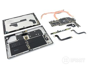 Microsoft Surface Pro 5 Teardown