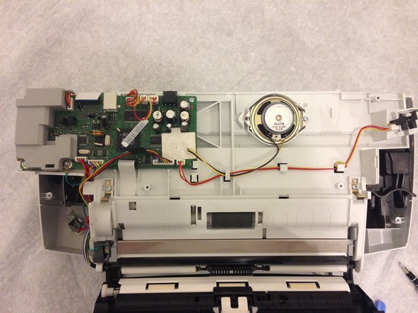 HP Officejet J3680 Speaker Replacement