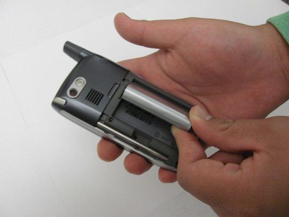 Remplacement de la batterie du Palm Treo 700P