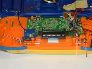 Disassembling VTech MobiGo Touch Learning System Screen Enclosure