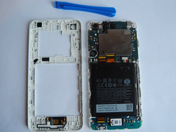 HTC OPM9200 Backplate Removal Prerequisite