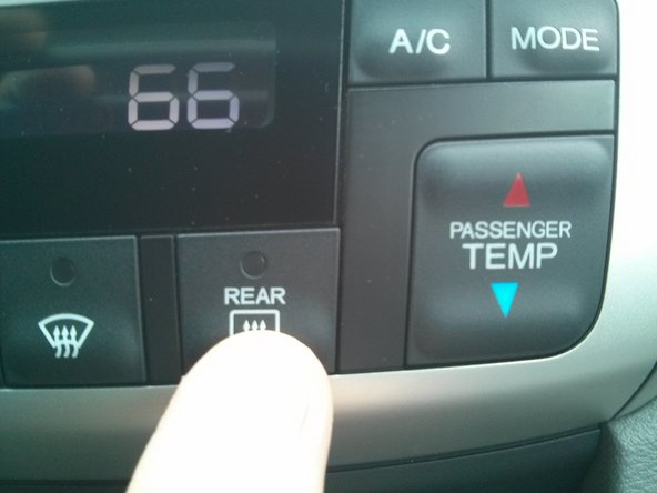 Image 1/2: 1. In-car temperature in Celsius.