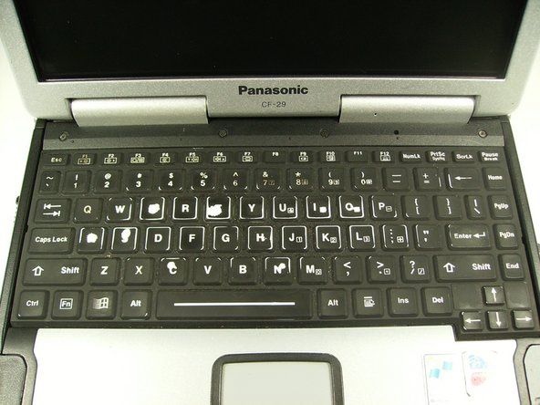 Panasonic Toughbook CF-29 Keyboard Replacement