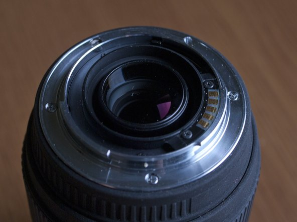 Repairing Focus ring on Sigma 70-300mm F4-5.6 DG Macro for Sony