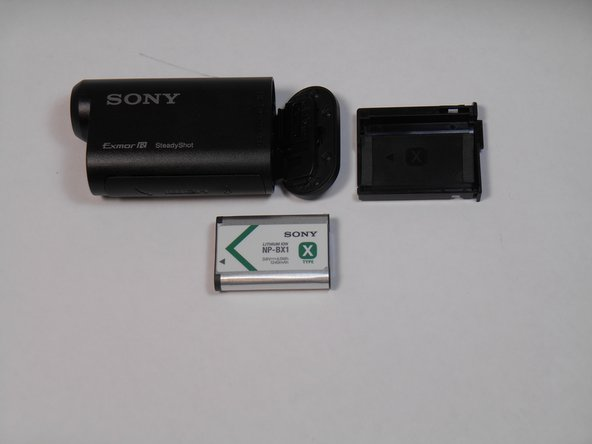 Sony Action Cam HDR-AS15 Battery Replacement