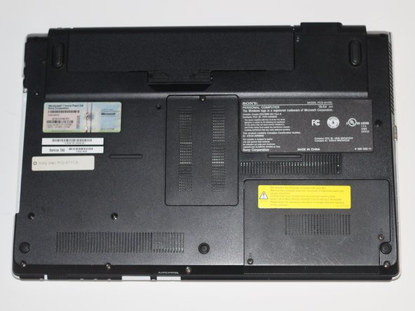 Sony Vaio PCG-61112L Back Case