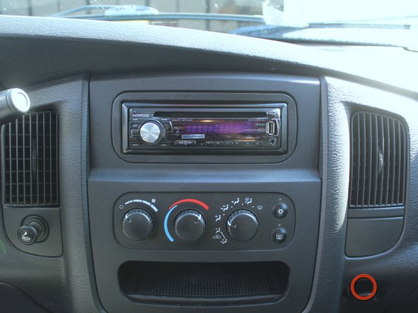 2002-2008 Dodge Ram 1500 Stereo Head Unit Replacement