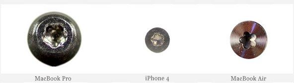 Pentalobe screws in the iPhone 4, MacBook Pro, and MacBook Air