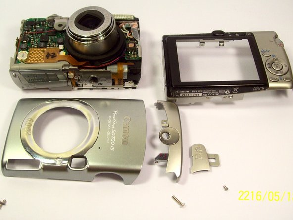 Canon PowerShot SD700 E18 Error Replacement