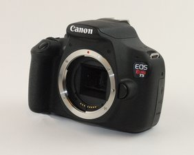 Canon EOS Rebel T5 Troubleshooting