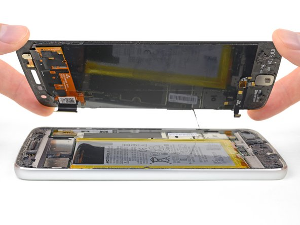 Motorola Moto Z Play reemplazo de pantalla