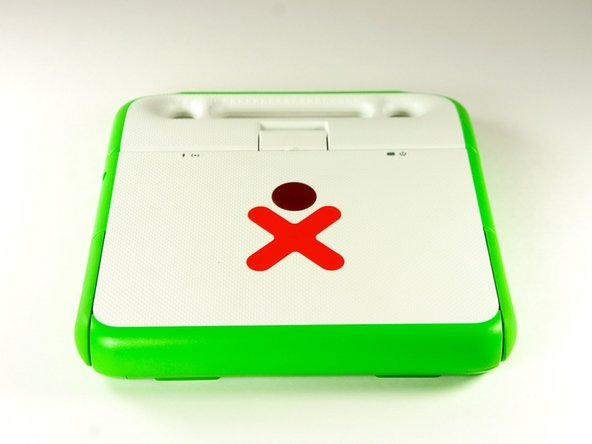 OLPC XO-1.5 Screen Portion Replacement