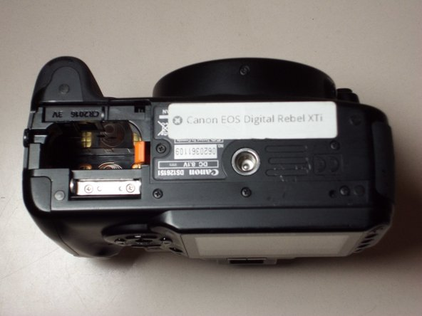 Canon EOS Rebel XTi Battery Replacement