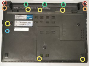 ASUS U46E-RAL7 Back Panel Removal Guide