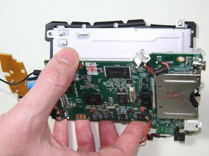 Separate Motherboard and Screen Assembly