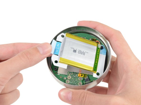 Easily removable battery in the Nest Thermostat teardown