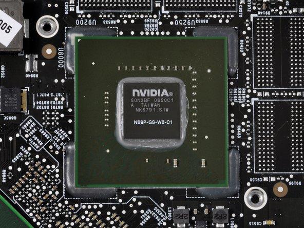 Middle image: NVidia L901B138 0902B3 PB9487.000 MCP79MXT-B3