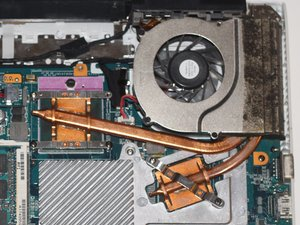 Sony Vaio PCG-61112L Fan Replacement