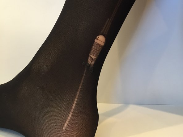 How to Prevent a Run or Tear in Tights from Spreading