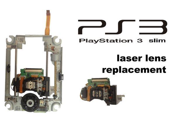 PlayStation 3 Slim Laser lens Replacement