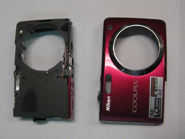 Nikon Coolpix S630 Front Cover Replacement