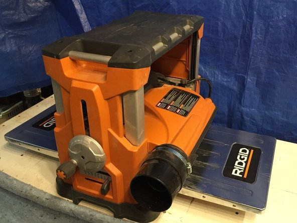 Ridgid R4300 Planer Cutting head with Byrd SHELIX Helical Cutter Head Replacement
