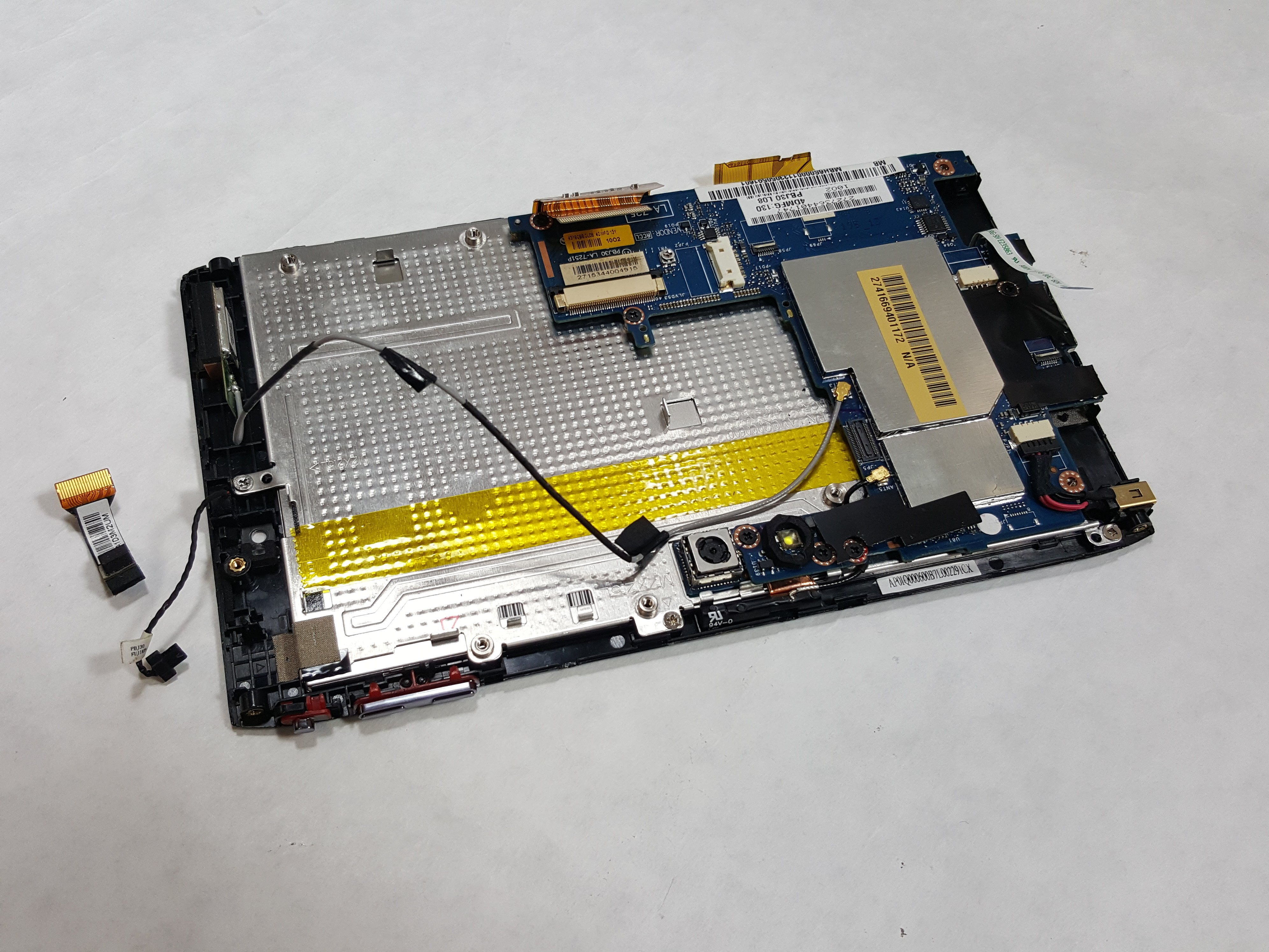 Acer Iconia A100 Light Sensor Replacement