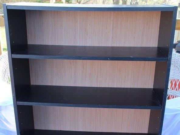 Back of Bookshelf Replacement