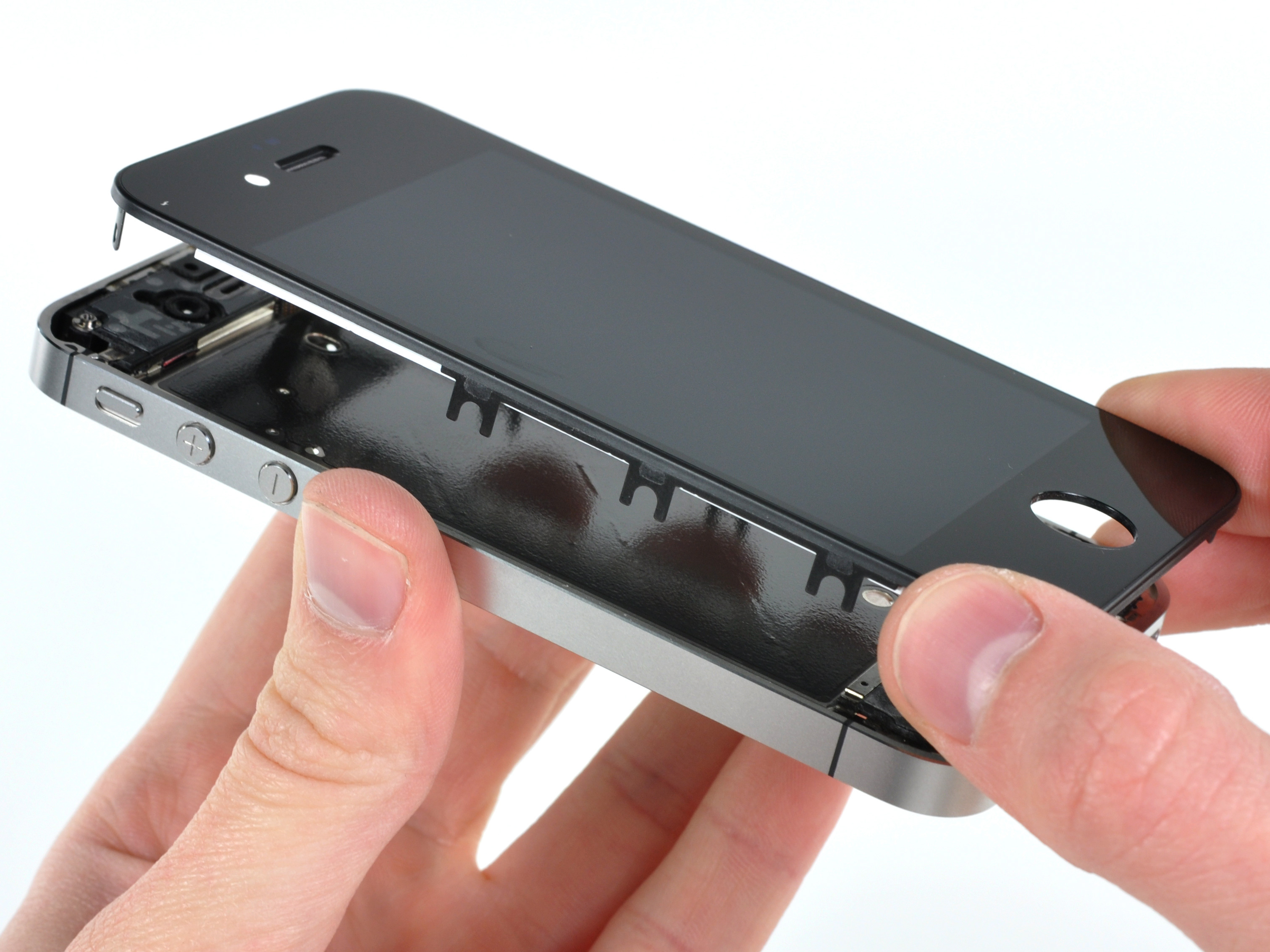 replacing iphone 5 screen iphone 4 verizon display assembly replacement ifixit 5275