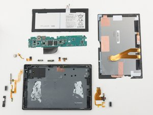 Sony Xperia Z4 Tablet Repairability Assessment