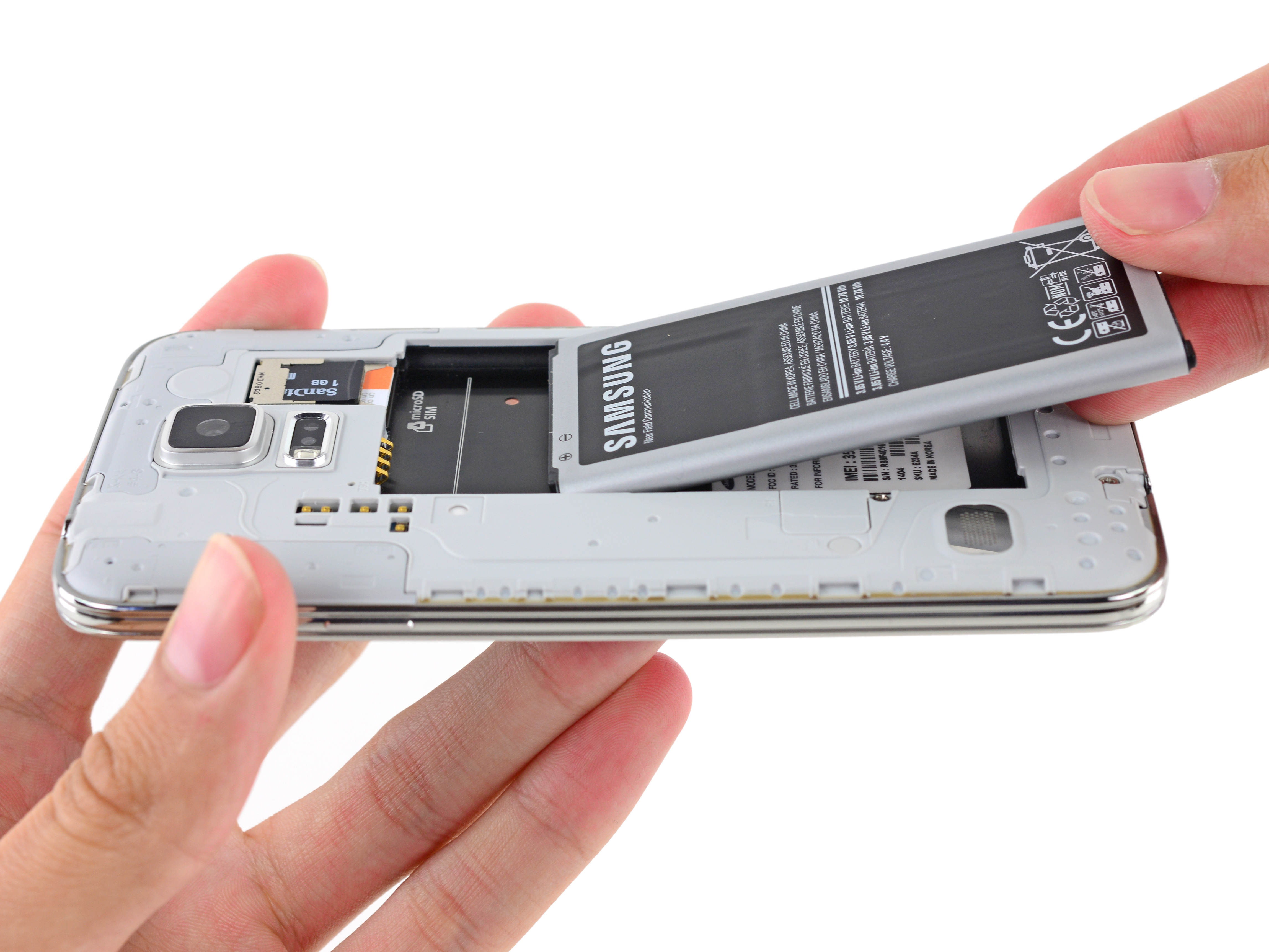 how do you take the battery out of an iphone samsung galaxy s5 battery replacement ifixit repair guide 9874