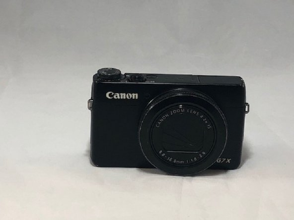 Canon PowerShot G7X Battery Replacement