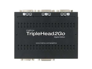 Matrox TripleHead2Go Display Adapter Repair