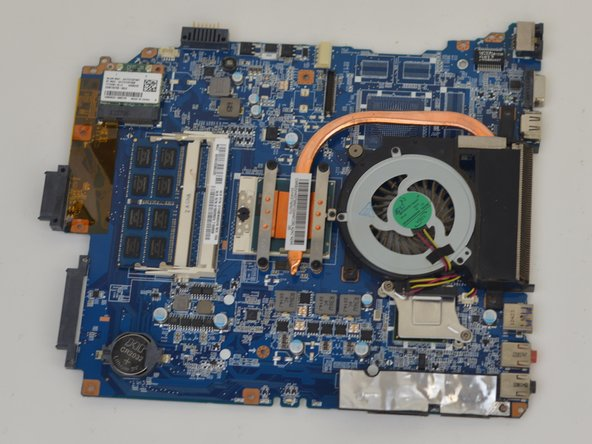 Sony Vaio SVE151G11L Motherboard Replacement