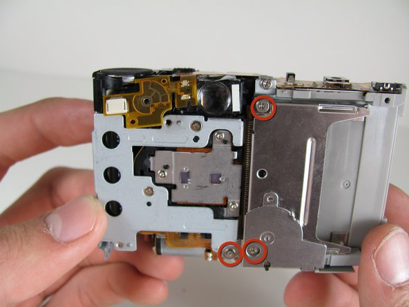Canon PowerShot S500 Breakdown to Three Parts Replacement