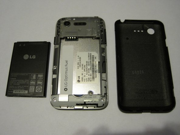 LG Optimus Fuel Battery Replacement