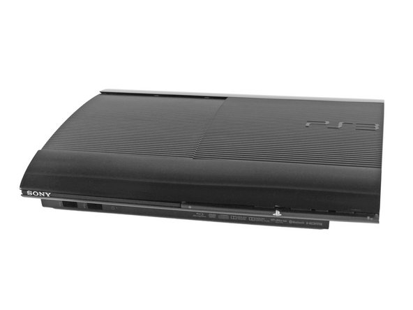 Image 1/1: Primed and ready to bare all and prove its worth, the PlayStation 3 Super Slim packs a lot of power in a super compact form factor. Notable specs include: