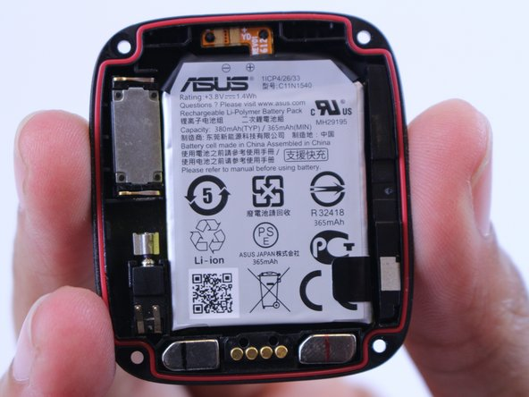 Asus ZenWatch 2 Battery Replacement
