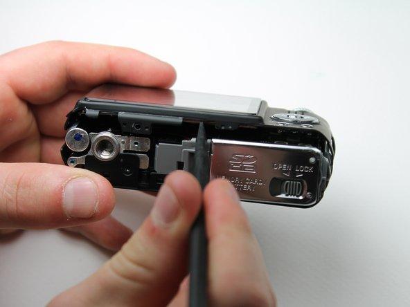 Panasonic Lumix DMC-FX07 Back Cover Replacement