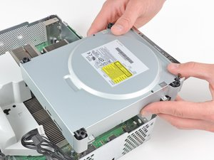 Xbox 360 Optical Drive Replacement