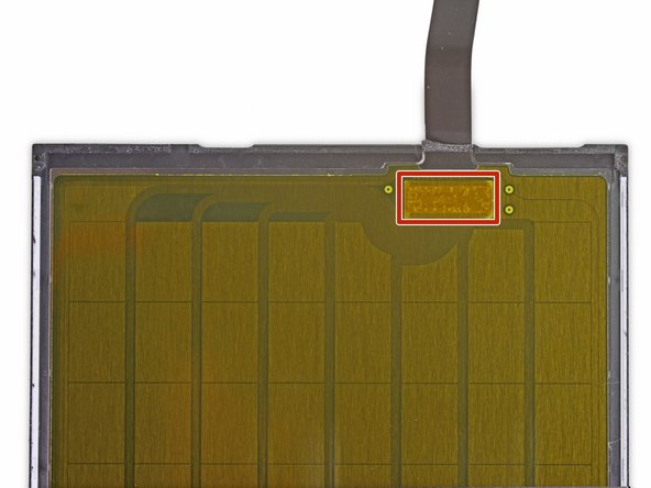 Image 1/2: Each of the gold rectangles on this back panel is a single plate of a [https://en.wikipedia.org/wiki/Capacitance|parallel plate capacitor].