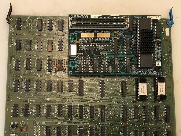 Apple Lisa XLerator 12.5/18 Installation