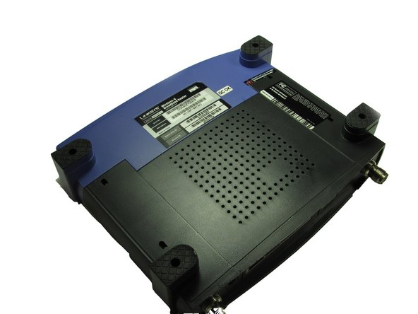 Linksys WRT54GS v2 Front Case Replacement
